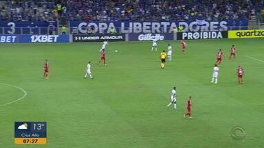 Diego Guichard analisa o empate do Inter com o Cruzeiro no Mineirão - Partida contou com polêmica de arbitragem.