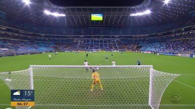 Confira lances do empate sem gols entre Grêmio e Corinthians - Assista ao vídeo.
