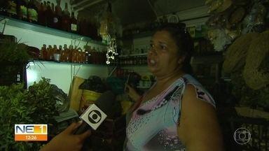 Anexo do Mercado de São José tem energia cortada por falta de pagamento - Secretaria de Mobilidade afirma que luz foi restabelecida no final da manhã.
