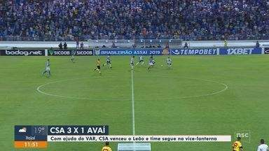 Roberto Alves comenta a derrota do Avaí para o CSA - Roberto Alves comenta a derrota do Avaí para o CSA