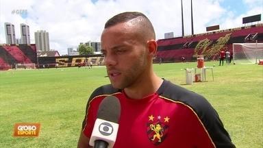 Sport pega CRB, em Alagoas, e rubro-negros veem jogo encardido para Leão - Guilherme vê equipes fortes na disputa de vaga na Série A
