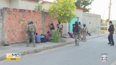 Polícia Civil realiza operação contra tráfico de drogas em Sete Lagoas - De acordo com a corporação, 20 mandatos de prisão temporária estão sendo cumpridos.