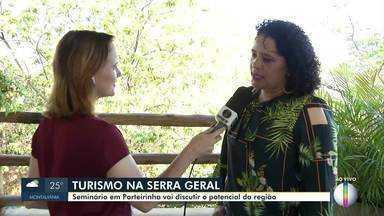 Seminário do Turismo na Serra Geral é realizado em Porteirinha - O evento ocorre nesta próxima quinta-feira (10). Ao vivo, secretaria de meio ambiente de Porteirinha fala sobre a programação.