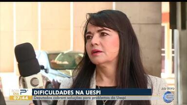 Deputados estaduais cobram soluções para problemas da UESPI - Deputados estaduais cobram soluções para problemas da UESPI