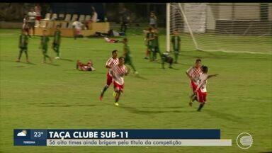 Taça Clube Sub 11: competição se afunila e 8 times ainda disputam título - Taça Clube Sub 11: competição se afunila e 8 times ainda disputam título