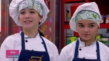 Programa de 09/10/2019 - Clara Galinari e Raylla Araújo se classificam para a grande final do 'Super Chefinhos'. Confira a prova de papillote e veja o workshop de comidas orientais