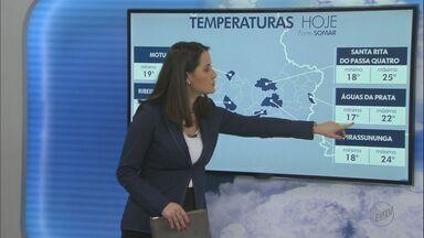 Veja como fica o tempo nesta quarta-feira na região - A chuva deve continuar em algumas cidades.