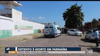 Preso é morto em cela da penitenciária mista de Parnaíba - Preso é morto em cela da penitenciária mista de Parnaíba