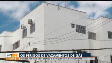 Casos recentes de incêndios e explosões chamam atenção para vazamentos de gás - Casos recentes de incêndios e explosões chamam atenção para vazamentos de gás