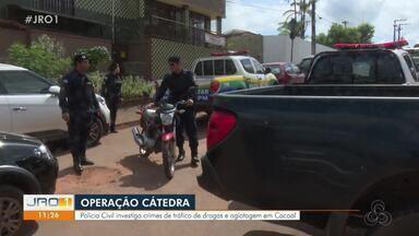 Novidades sobre a Operação Cátedra - Policial Civil foi preso na operação.