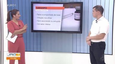 Rodrigo Almeida, médico, fala sobre a importância da vacinação contra o sarampo - Rodrigo Almeida, médico, fala sobre a importância da vacinação contra o sarampo