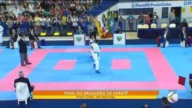Competições da final do Brasileiro de Karatê começam nesta quarta - Decisões de várias categorias serão realizadas em Uberlândia até domingo