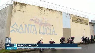 Superlotação do Centro Socioeducativo preocupa autoridades em Juiz de Fora - Instituição recebe adolescentes e jovens da cidade e de outros municípios da Zona da Mata.