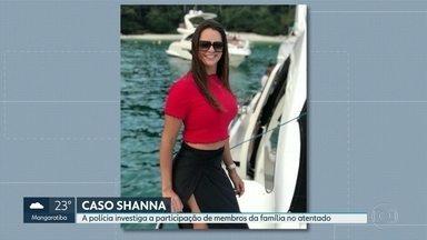 Polícia investiga participação da família no atentado contra filha do bicheiro Maninho - Shanna Garcia teria sido baleada devido a uma disputa na própria família, segundo uma das linhas de investigação da Divisão de Homicídios.