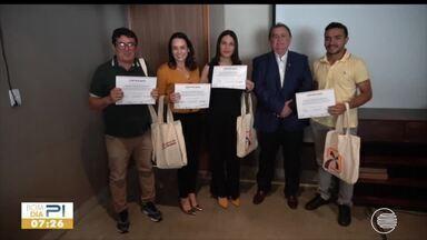 Equipe da Rede Clube ganha Prêmio Regional de Jornalismo do Banco do Nordeste - Equipe da Rede Clube ganha Prêmio Regional de Jornalismo do Banco do Nordeste