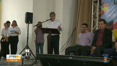 Centro de Convenções em Campina Grande - Governador anuncia investimento de R$ 100 milhões em novo espaço.