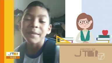 Confira a participação dos telespectadores no quadro 'Mestres no JT1' - Mande um vídeo homenageando o seu professor com hashtag #mestresnojt1
