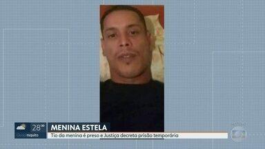 Tio confessa, em depoimento, que matou a menina Estela sob efeito de drogas - Paulo Evangelista prestou depoimento e contou como matou a sobrinha de seis anos. A Justiça decretou a prisão temporária dele.
