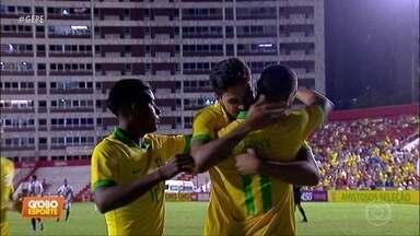 Seleção pré-olímpica goleia Venezuela, por 4 a 1, nos Aflitos, e faz alegria da torcida - Atacante Antony marcou duas vezes