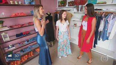 No dia das crianças, Espelho Meu dá dicas de como escolher roupas e fazer combinações - A Karina Sommerfeld foi ajudar a Ana Beatriz, que tem 14 anos, e encontra muita dificuldade para acertar nas escolhas.