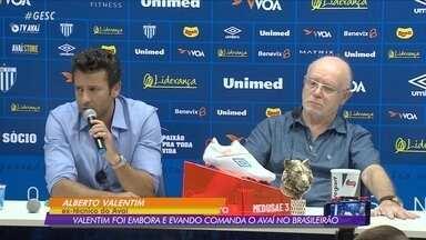 A caminho do Botafogo, Alberto Valentim anuncia saída do Avaí - A caminho do Botafogo, Alberto Valentim anuncia saída do Avaí