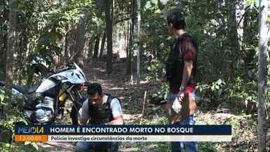 Homem é encontrado morto no bosque em Londrina - Polícia investiga a causa da morte. O corpo foi encaminhado ao IML.