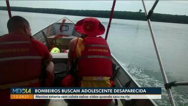 Adolescente que caiu de moto aquática no rio Paraná continua desaparecida - Em Ponta Grossa, pai e filho morreram afogados.