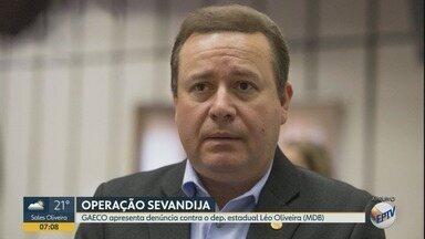 Gaeco denuncia deputado Léo Oliveira por esquema de corrupção em Ribeirão Preto - Segundo Ministério Público, parlamentar integrou grupo de vereadores que recebia propina.