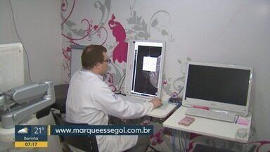 Carreta realiza mamografias gratuitas no Estádio Santa Cruz em Ribeirão Preto - Mulheres devem agendar horário no site www.marqueessegol.com.br