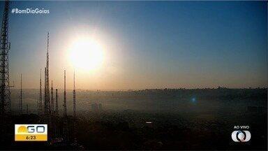 Confira a previsão do tempo para Goiás - Dia deve ser de sol e nebulosidade em todo estado.