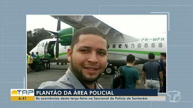 Plantão policial: confira as ocorrências registradas na 16ª seccional de Santarém - Saiba o que foi registrado na Delegacia de Santarém com a repórter Daína Aben-Athar.