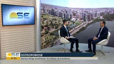 Osteoporose atinge 10 milhões de brasileiros - Osteoporose atinge 10 milhões de brasileiros.