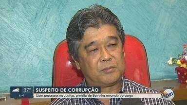 Prefeito investigado por desvio de R$ 39 mil em mudas de plantas renuncia em Barrinha, SP - Mituo Takahasi, o Katiá (PPS), já estava afastado desde setembro por determinação do Tribunal de Justiça.