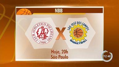São José estreia no NBB contra o Paulistano - Duelo acontece na noite desta terça em SP.