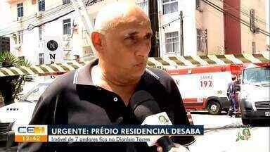 Engenheiro comenta desabamento de prédio em Fortaleza