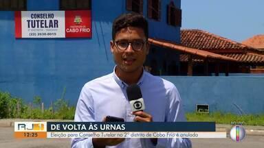 Eleição para Conselho Tutelar no 2º distrito de Cabo Frio é anulada - Moradores voltarão às urnas em dezembro.