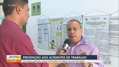 Municípios do Amapá passam a notificar sistema nacional sobre acidentes de trabalho - Informações serão usadas para a prevenção desse tipo de acidente.