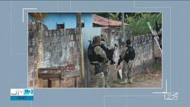 Polícia Federal realiza operação e cumpre 32 mandados de prisão no Maranhão - Dos mandados, 13 eram de detentos que comandavam um esquema de venda de drogas e armas no estado.