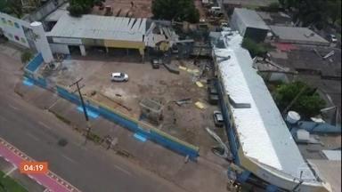Explosões em distribuidora de gás de Boa Vista provocam quatro mortes - A suspeita é de um acidente na área de recarga de cilindros. Segundo o Corpo de Bombeiros de Roraima, a empresa não tinha auto de vistoria para funcionar.