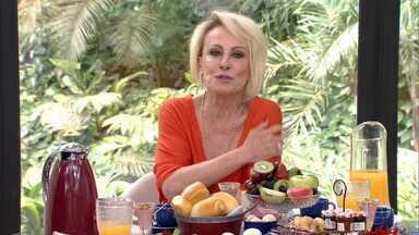 Programa de 16/10/2019 - Ana Maria Braga visita Juliana Paes no cenário do reality 'Best Cake' da novela 'A Dona do Pedaço' e recebe o humorista Fábio Porchat para o café da manhã