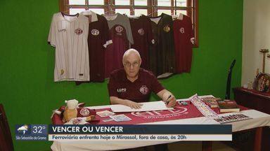 Ferroviária precisa vencer o Mirassol para continuar na Copa Paulista - Jogo será fora de casa, às 20h.