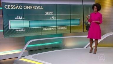 Senado aprova repartição do dinheiro do leilão do pré-sal - Estimativa é que megaleilão renda R$ 106,6 bilhões. Divisão inclui Petrobras, União, estados e municípios e 3% só para o Rio de Janeiro.