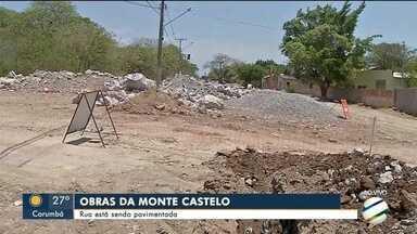 Em Corumbá, explosões em obras danificam casas dos moradores - Empresa usa dinamite para abrir galerias na rua Monte Castelo