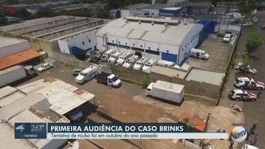 Justiça ouve primeiras testemunhas do caso do ataque à Brinks em Ribeirão Preto, SP - Empresa de transporte de valores foi alvo de criminosos na madrugada de 29 de outubro do ano passado.
