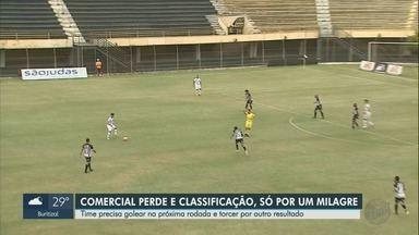 Comercial perde para o São Bernardo e se complica na Copa Paulista - Time precisava vencer, mas já começou o jogo pressionado.