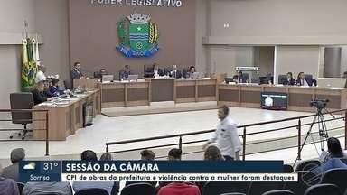 Sessão da Câmara: Vereadores debatem sobre projetos polêmicos - Sessão da Câmara: Vereadores debatem sobre projetos polêmicos