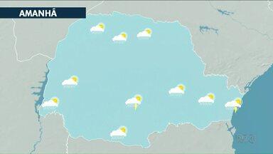 Sexta-feira (18) pode ter chuva isolada na região Noreste - Temperaturas ficam acima dos 30 graus em toda região.