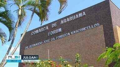 Pai de adolescente assassinado é julgado em Araruama, no RJ - Caso aconteceu em 2017.