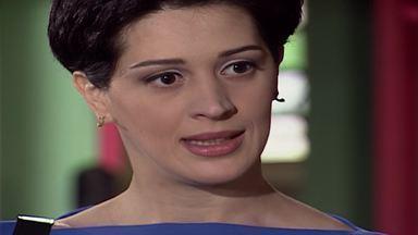 Capítulo de 29/09/1998 - Clara ouve Clementino dizer que explodiu o shopping e que não a ama e, magoada, decide deixá-lo. Sandra procura Lúcia e discute com Alexandre. Clara vai para a casa de Ângela e conta a ela que está grávida.