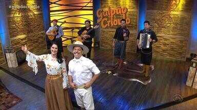 Reveja o primeiro bloco do Galpão Crioulo deste domingo (30) - Assista ao vídeo.